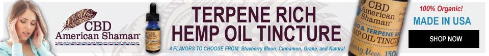 Cbd terpene rich hemp oil tincture
