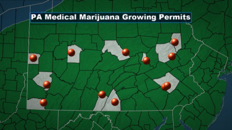 Pennsylvania is Beginning to Issue Permits to Medical Marijuana Growers