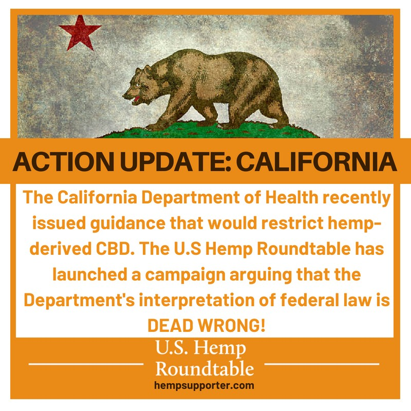 Fighting for Hemp-Derived CBD in California