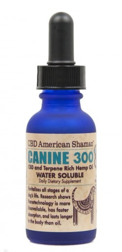 Canine CBD and Terpene Rich Hemp Oil Water Soluble THC Free