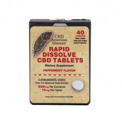 Sublingual CBD Tablets