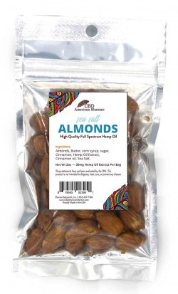 CBD Sea Salt Almonds