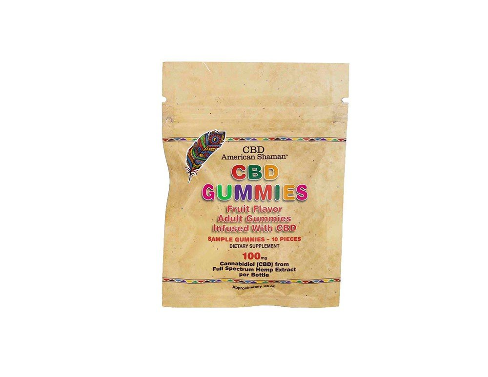 CBD American Shaman Sample Pack Of Gummies