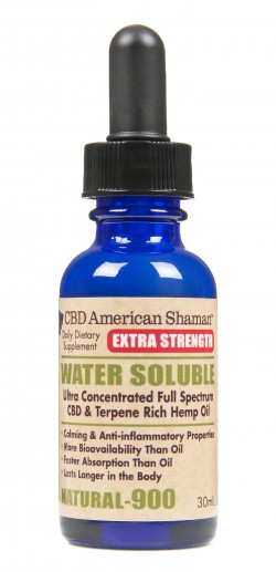 CBD Extra Strength Water Soluble THC Free