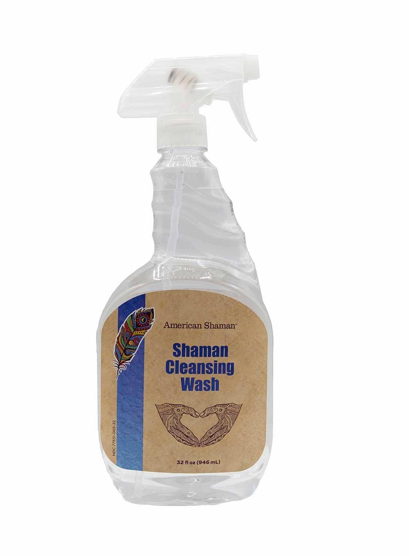 Shaman Cleansing Wash Spray Bottle 32oz