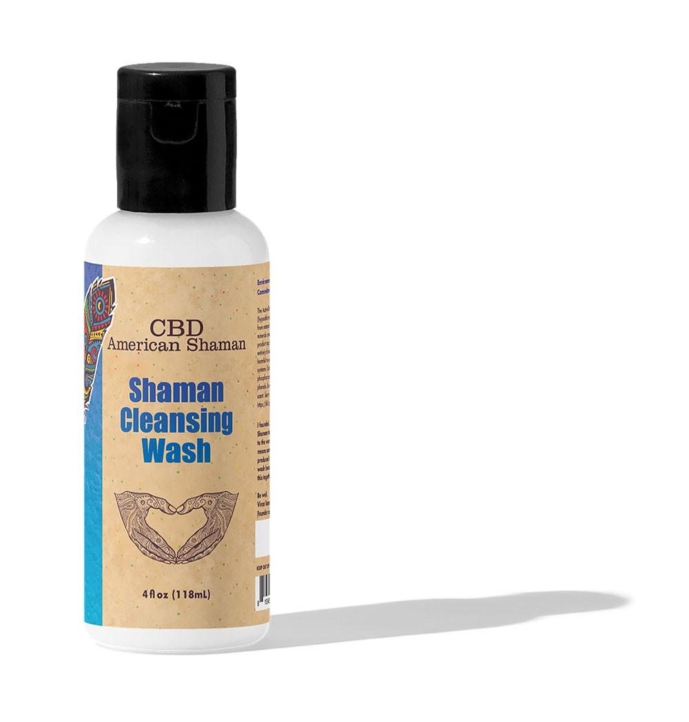 4oz Bottle Of Shaman Cleansing Wash