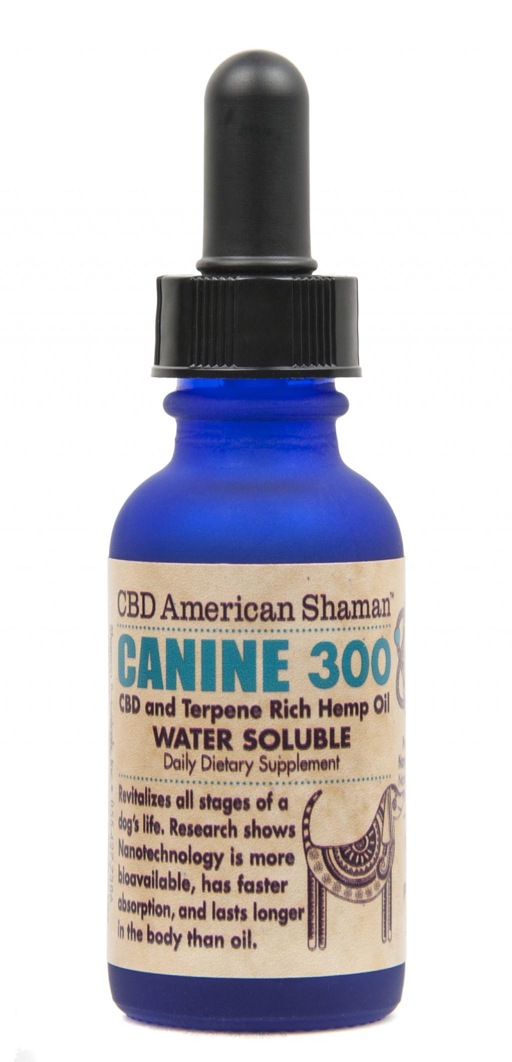 Canine CBD And Terpene Rich Hemp Oil Water Soluble