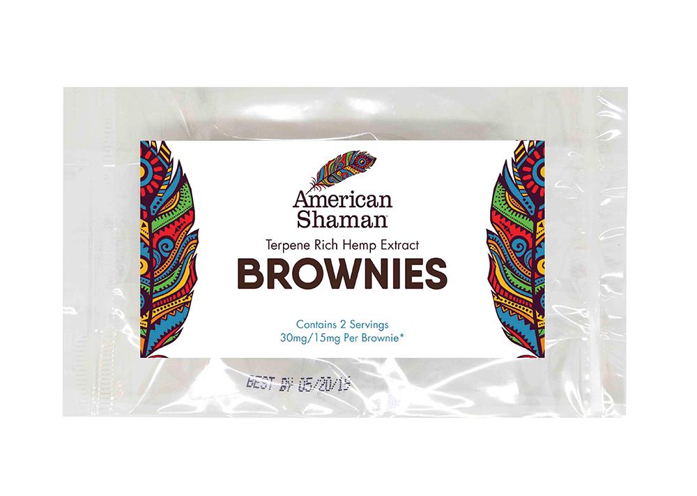 CBD American Shaman CBD Brownies