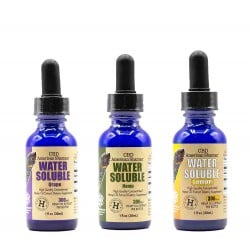 Water Soluble CBD, Full Spectrum Hemp Oil (30mL) THC Free
