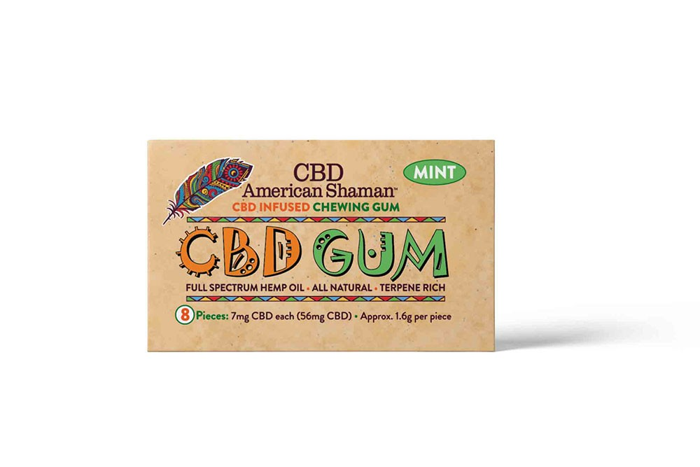 CBD American Shaman CBD Gum
