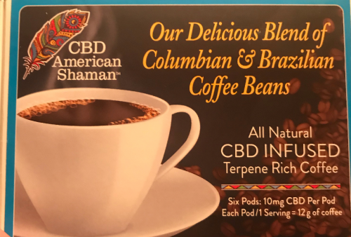 CBD Infused Terpene Rich Coffee