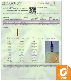 Water Soluble Full Spectrum Hemp Oil 300 mg